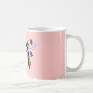 Headphone & Tree of Life Design Classic White Coffee Mug