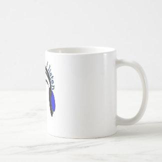 "Headphones design, ""I Listen"" Classic White Coffee Mug"