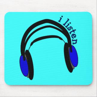 Headphones design I Listen Mouse Pad