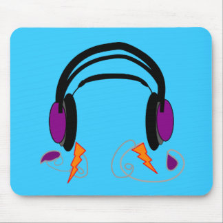 Headphones Design--Music Lovers Mouse Mat