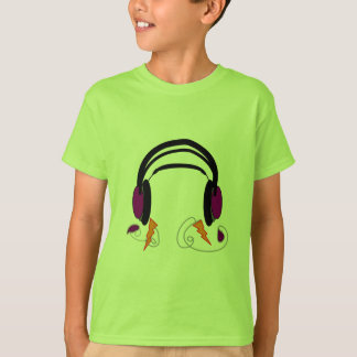 Headphones Design--Music Lovers T-Shirt