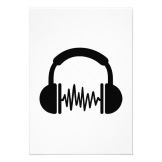Headphones Frequency DJ Personalized Announcements