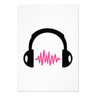Headphones Frequency Custom Invite