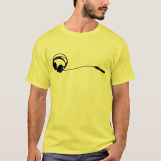 Headphones Jack T-Shirt
