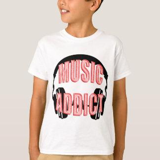 Headphones Music Addict T-Shirt