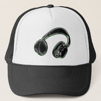Headphones Trucker Hat