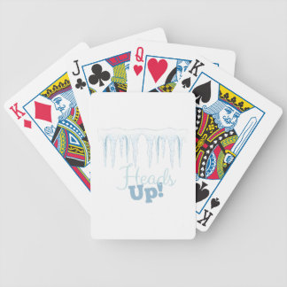 Heads Up Bicycle Playing Cards