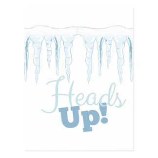 Heads Up Postcard