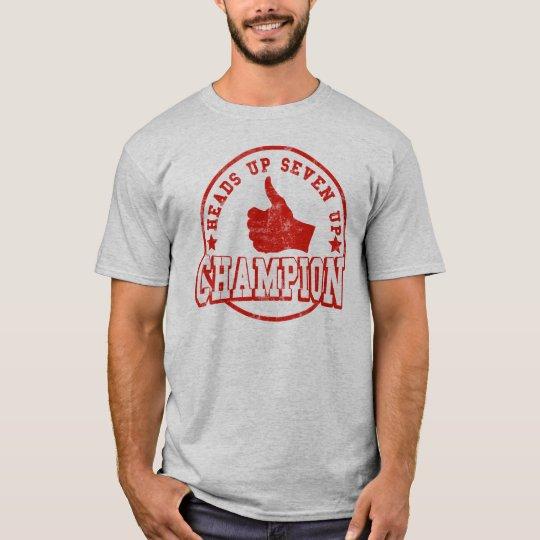 Heads up Seven Up Champion T-Shirt