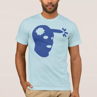 Headshot Large, Dark Blue T-Shirt
