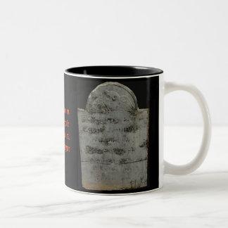 Headstone Coffee Mug for Halloween