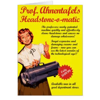 Headstone-o-matic Card