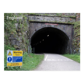 Headstone Tunnel, Derbyshire, England. Postcard