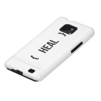 Heal - Bracketed - Black and White Galaxy SII Covers