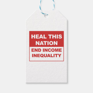 Heal This Nation - End Income Inequality Gift Tags