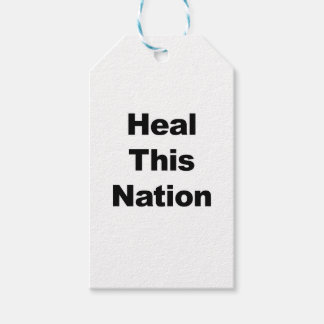 Heal This Nation Gift Tags