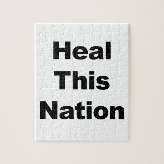 Heal This Nation Jigsaw Puzzle