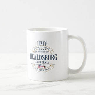 Healdsburg, California 150th Anniversary Mug