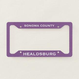 Healdsburg Sonoma County License Plate Frame