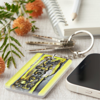 Healer Single-Sided Rectangular Acrylic Keychain