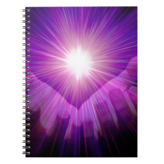 Healers flame notebook
