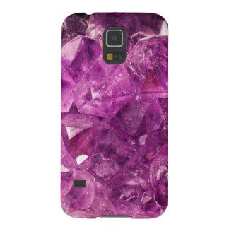 Healing Amethyst Gemstone Galaxy S5 Cover