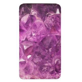 Healing Amethyst Gemstone Galaxy S5 Pouch