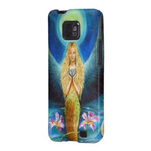 Healing Angel Galaxy SII Covers