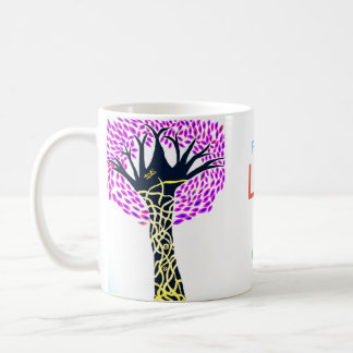 Healing Art Tree Design By Ashi Sharma Coffee Mug