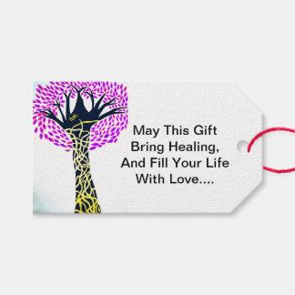 Healing Art Tree Design By Ashi Sharma Gift Tags