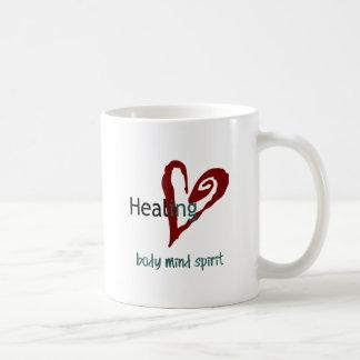 Healing Body Mind Spirit Coffee Mug