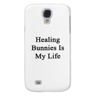 Healing Bunnies Is My Life Samsung Galaxy S4 Cover