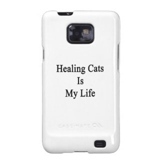 Healing Cats Is My Life Samsung Galaxy SII Cases