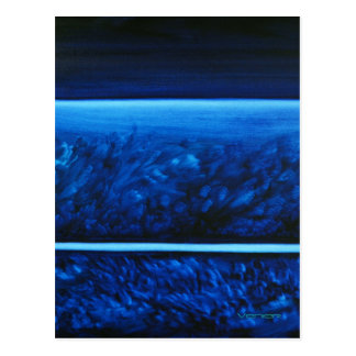 Healing Colors Notecard/Postcard - Calming Blue Postcard