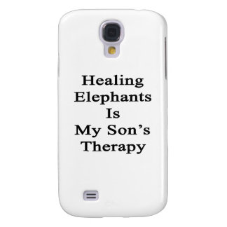 Healing Elephants Is My Son's Therapy Galaxy S4 Cases