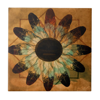 Healing Feather Sun Tiles