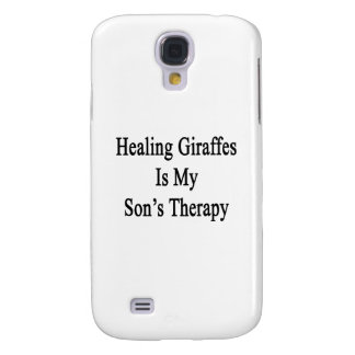 Healing Giraffes Is My Son's Therapy Galaxy S4 Covers