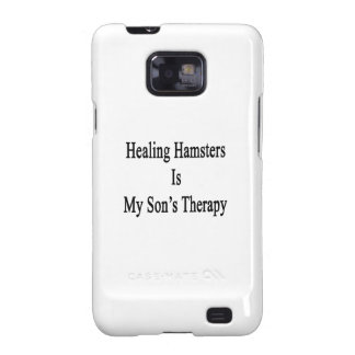 Healing Hamsters Is My Son's Therapy Samsung Galaxy SII Cover