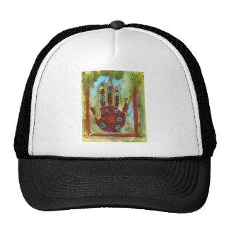 healing hand 8 mesh hat