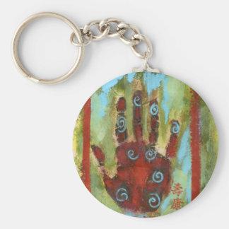 healing hand 8 key chain