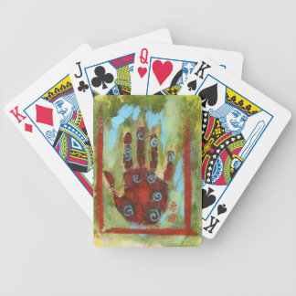 healing hand 8 bicycle poker deck