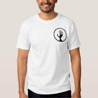 Healing hand aura tee shirts