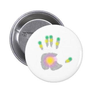 Healing Hand Pinback Buttons