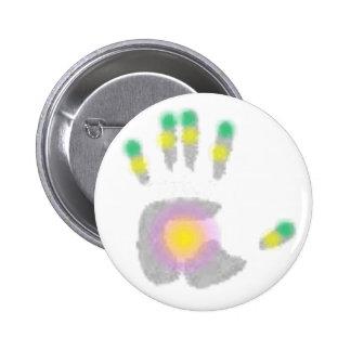 Healing Hand Buttons
