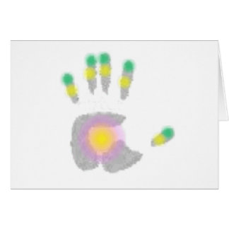 Healing Hand Greeting Cards
