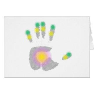Healing Hand Greeting Card