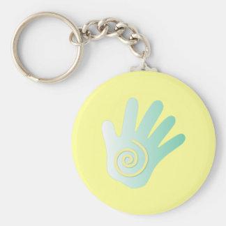Healing Hand Basic Round Button Keychain