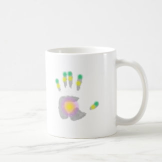 Healing Hand Coffee Mugs