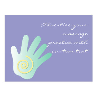 Healing Hand Postcard