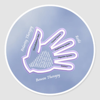 Healing Hand Stickers